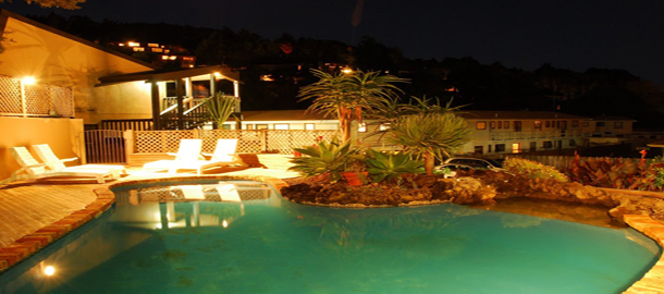 Exterior Night Pool